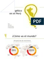 Sector Energético Perú