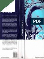 Diccionario Del Pensamiento Kleiniano [R.D. Hinshelwood]