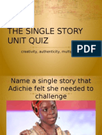 Single Story Review