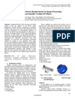 Review of Hardware Requirements in Image Processing  Based Quality Testing Of Object