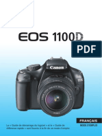 EOS 1100D Instruction Manual FR