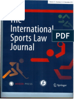 International Sports Law Journal (Dec - 2013)