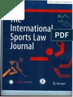 International Sports Law Journal (Dec - 2013)