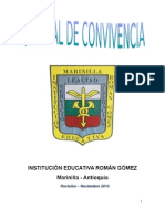 Manual de Convivencia Revisión Nov. 2015