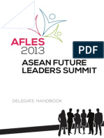 Delegate Guide - ASEAN Future Leaders Summit 2013