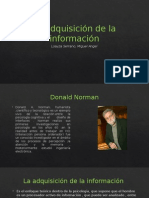 La Adquisición de La Información de Donald Norman