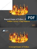 Raport Final Game of Tribes IAA YP Cluj