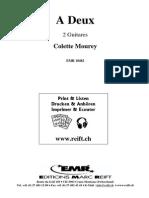 Colette Mourey - A Deux