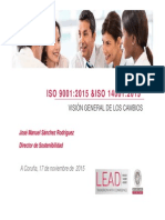 Presentación ISO9001-IsO 14001 2015 CEC