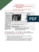 Chapitre 5 (Histoire) - Comment Le Pouvoir Royal Se Renforce-t-il en France à Partir Du XIIème Siècle - 16.11.15