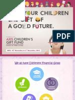 Axis Children's Gift Fund - NFO PPT
