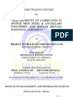 Final Copy of Summer Internship @Bharat Petroleum Corp.ltd.