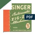Singer Automatic Zigzag Attachment