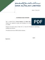 UBL Final Certificat