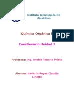 cuestionario organica 2