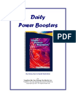 Daily Power Boosters