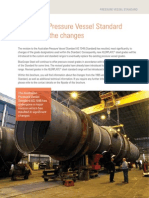 Pressure Vessels St Nds Changes