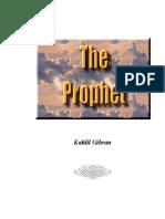 Gibran Kahlil the Prophet