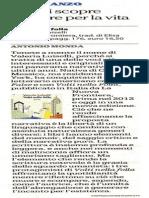 """""""Volti nella folla""""  su laRepubblica del 22 novembre 2015"""