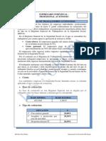 Empresario Individual y Régimen Autónomo 2014