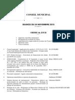 ordre du jour CM Limoges novembre 2015