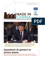Made in China Settembre-Ottobre 2015