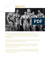 Rules From the Bodybuilding Legends