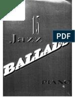 15 Jazz Ballads