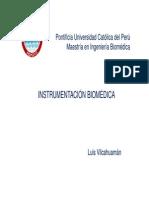 Instrumentación Biomedica Intro 2012