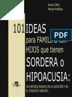 101 Ideas Para Hipoacusia