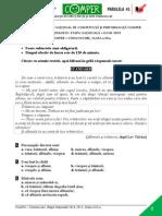 Subiect Si Barem LimbaRomana EtapaN ClasaIII 14-15