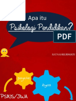 Bahan Ajar Psikologi Pendidikan