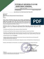 Surat Edaran Pendataan Tenaga Medis dan Non Medis Rumah Sakit Tahun 2015.pdf