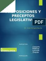 Proposiciones y Preceptos Legislativos.pptx Completo