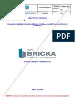RE 399.001_2013 R2 - Bricka (Ensaios de Desempenho)