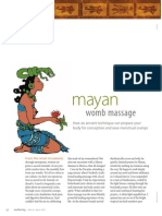 Mayan Womb Massage