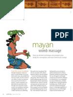 Mayan Womb Massage