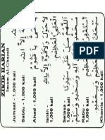 Zikir Imam Ghazali