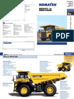 HD605 7R Dumper Technical Sheet