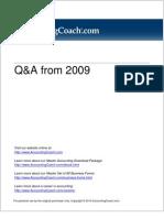 Q&A-2009
