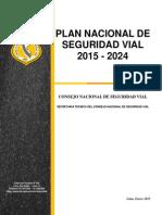 Proyecto Del Plan Nacional de Seguridad Vial 2015_2024 (1)