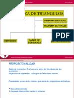 SEMEJANZA DE TRIANGULOS 1.ppt
