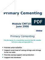1 Primary Cementing 22 Jun 00 A