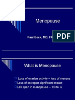 Beck - Menopause