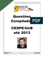 1001 Questões Separadas CESPE 2013 - Frank Mattos