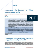 150409_Machina_Forecasting the Internet of Things Revenue Opportunity