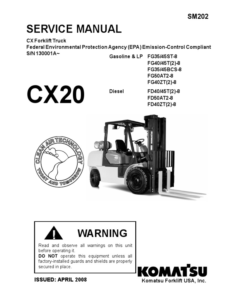 Komatsu Fg45st 8 Wiring Diagram Reinvent Your Yale Forklift Four Way Switch Servicio Cx20 Transmission Mechanics Axle Rh Fr Scribd Com Pc400 Clark