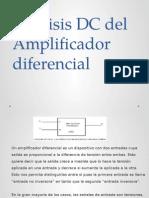 Analisis Dc amplificador diferencial