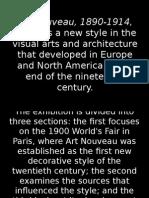 18 Art Nouveau, 1890-1914, Explores a New