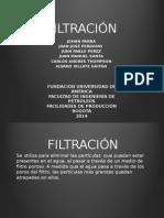 filtracion expocision